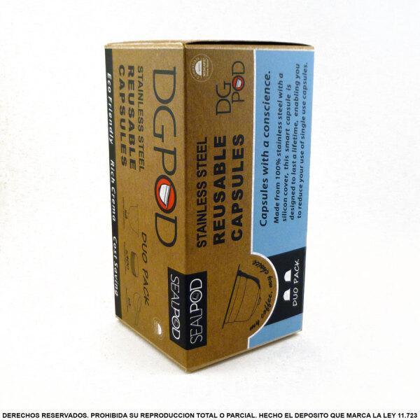 Nescafe Dolce Gusto Recargable DGPod DG2