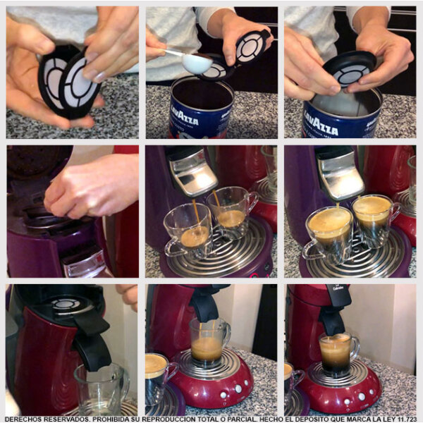 Philips Senseo Recargable Melitta